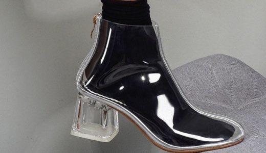 """まるでガラスの靴!夏にピッタリの""""透明シューズ""""が話題"""